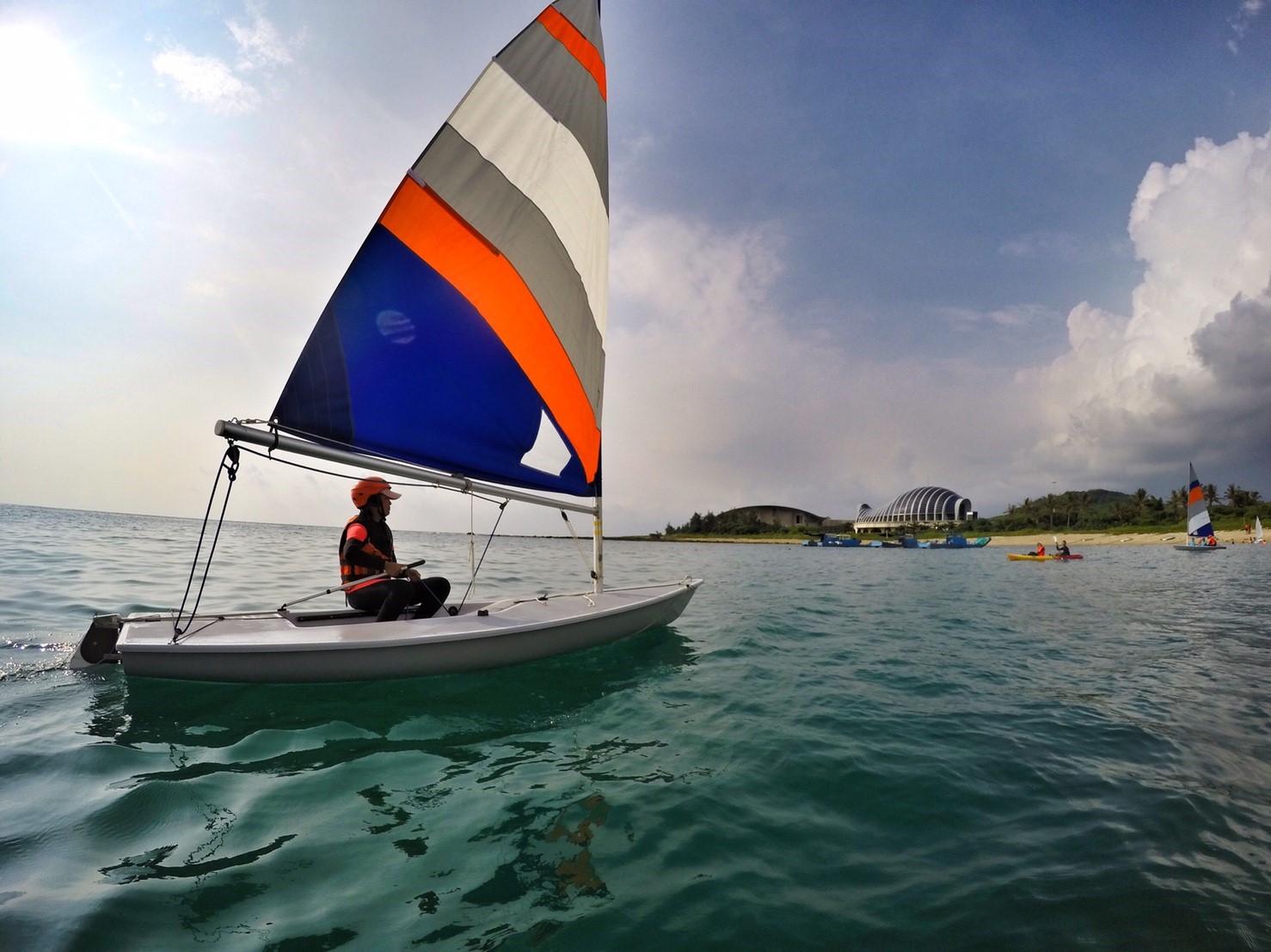 2016遊憩海洋、航向未來-帆船體驗活動