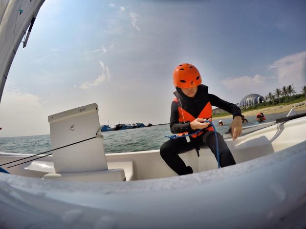 學員體驗OP帆船