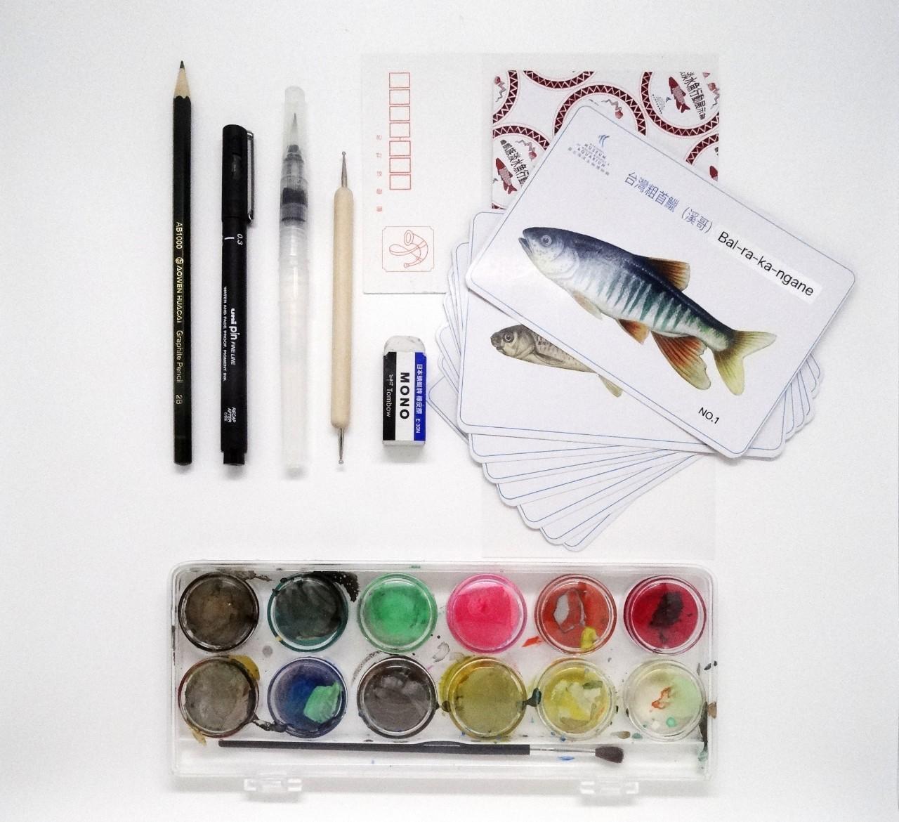 魚體特徵描繪