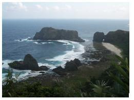 綠島珊瑚礁地形(林永銘 攝影)