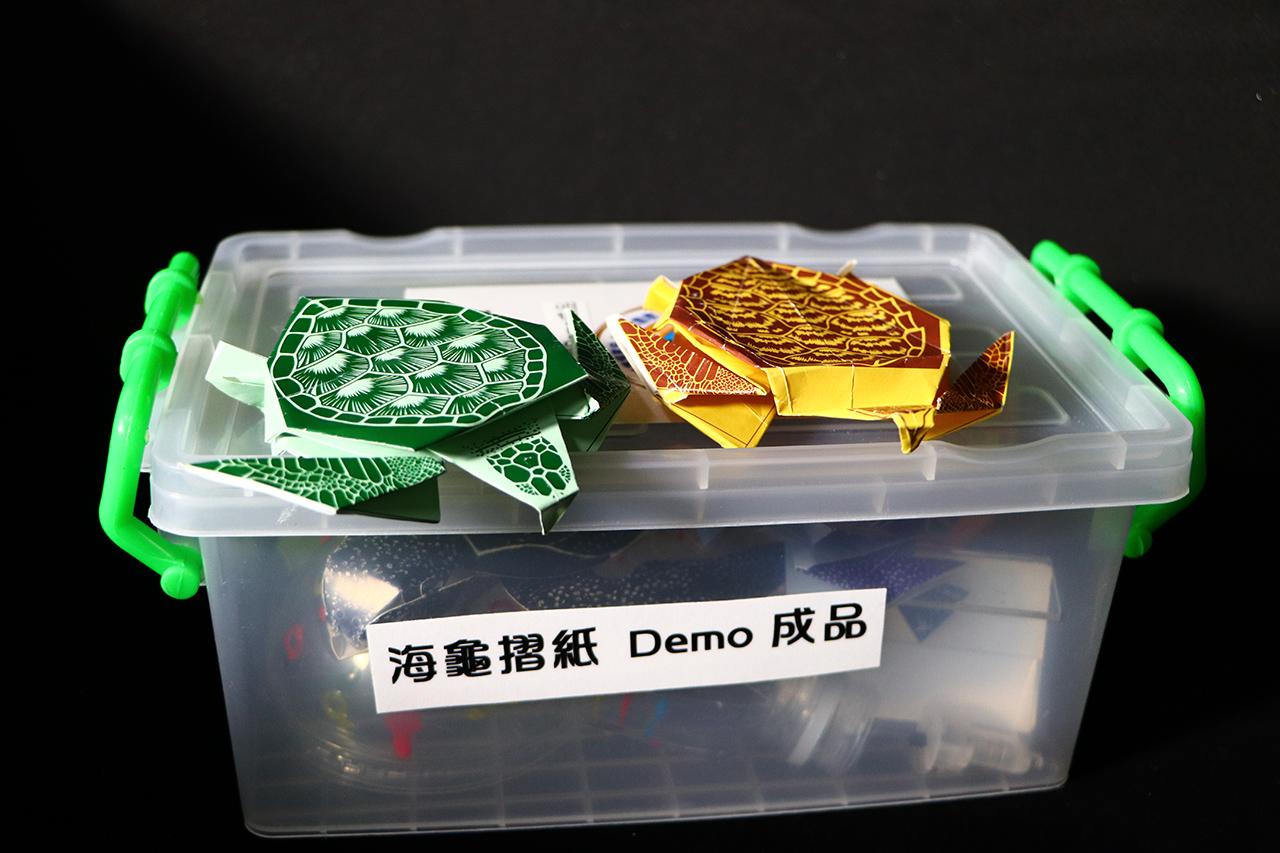 海龜行動展示箱
