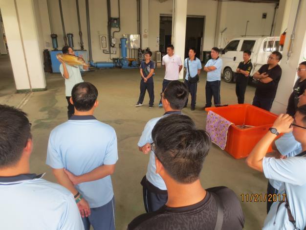 圖1-海生館於今日辦理傷病海龜搬運操作講習.JPG