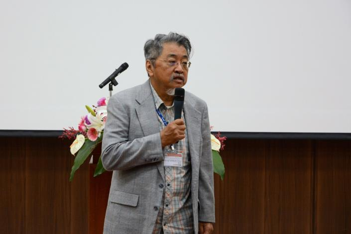 IUCN石首魚保育專家組主席,同時也是海生館全球石首魚研究保育平台特聘研究員的趙寧 (照片四、陳煦森攝)