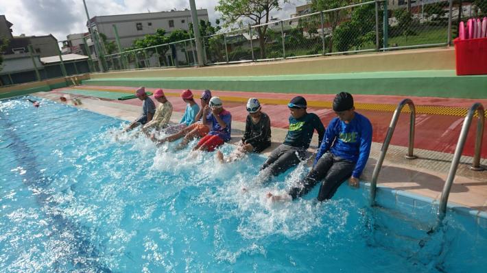 基本踢水教學