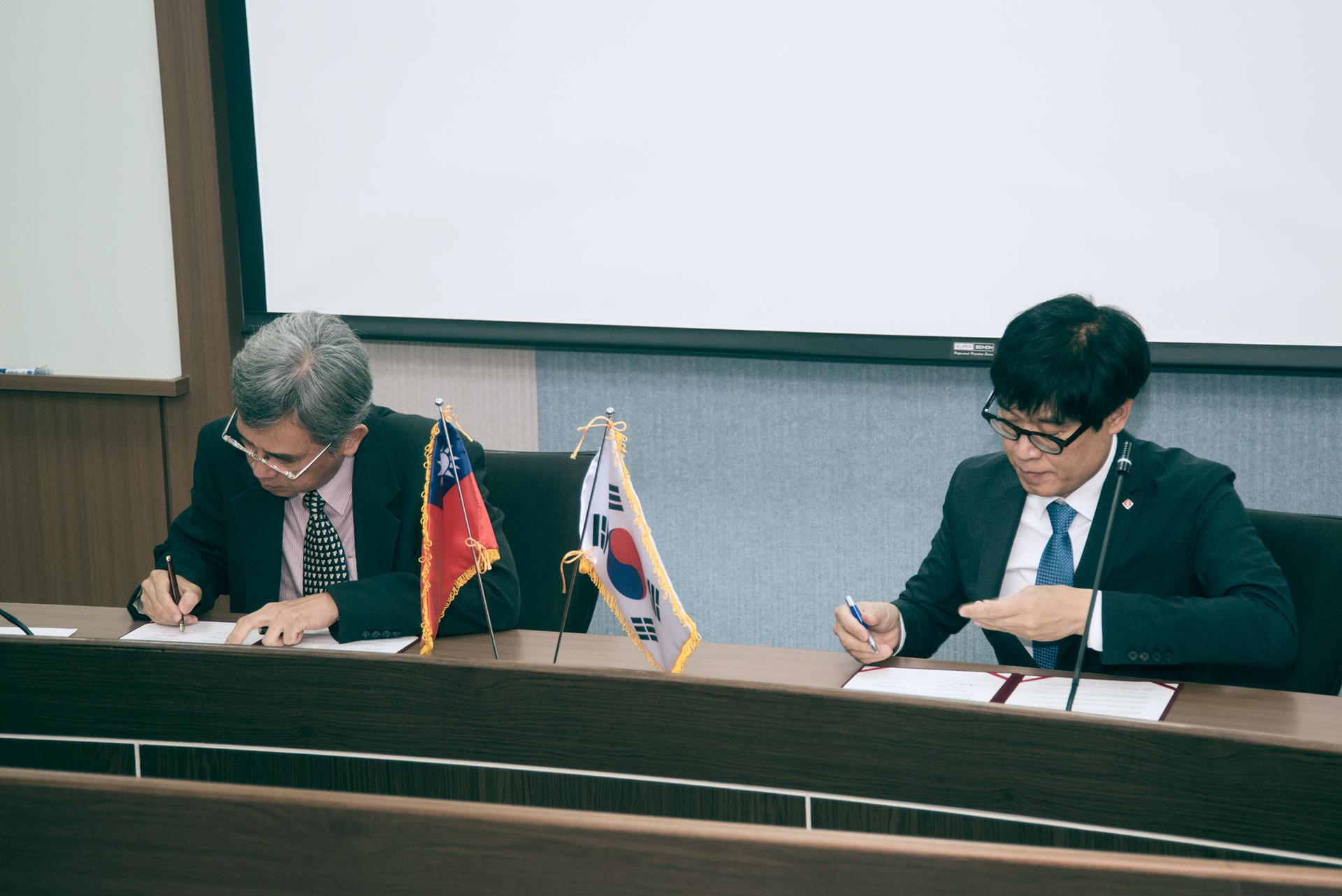 韓國樂天水族館簽MOU