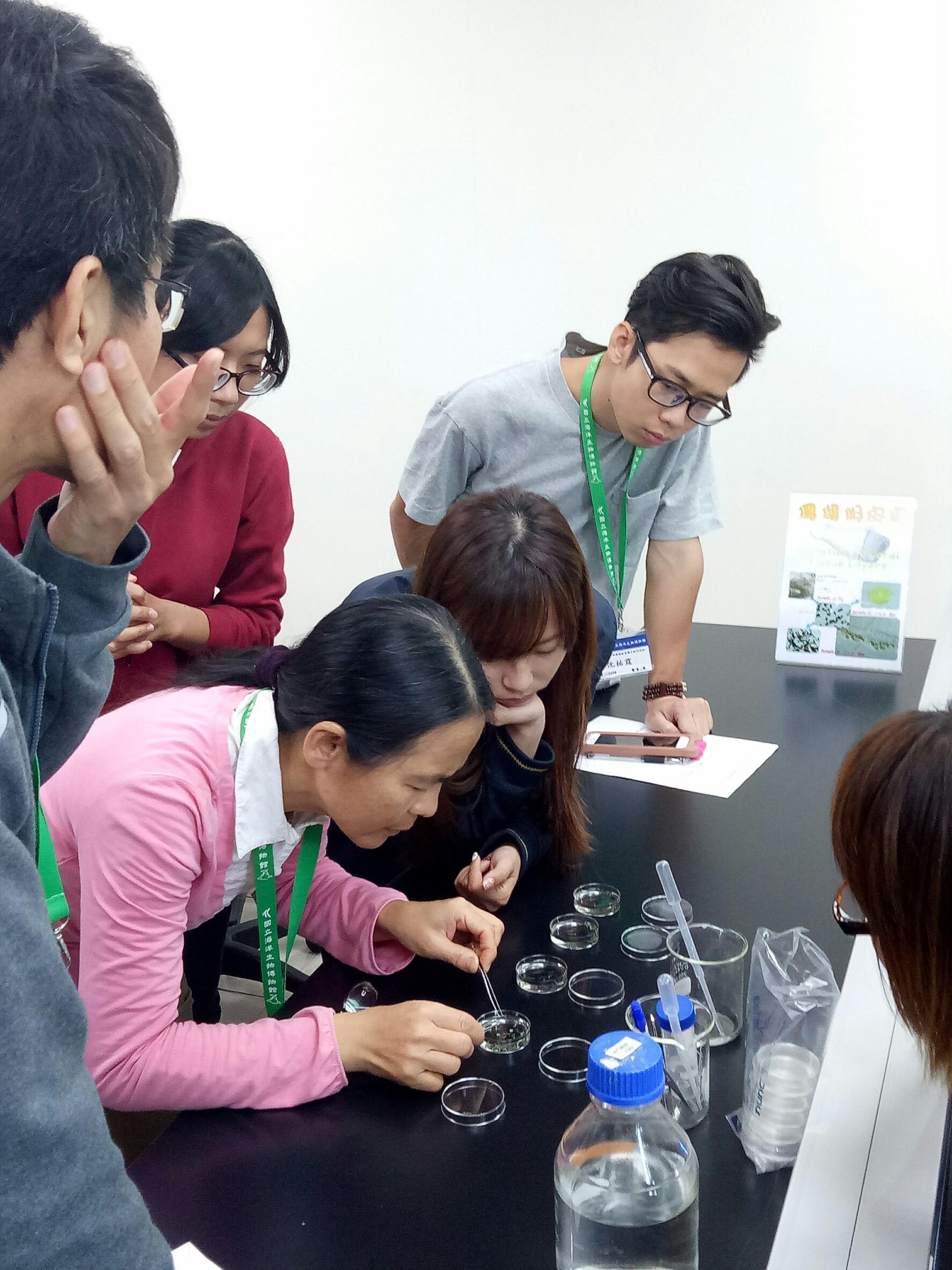 107年第一季環境教育增能計畫-珊瑚環境教育種子教師培訓