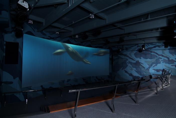 3D海洋爬行類劇場