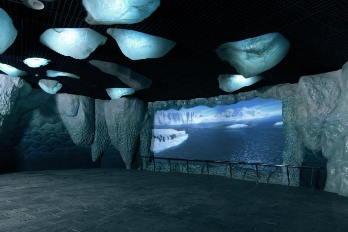 南極區投影展示