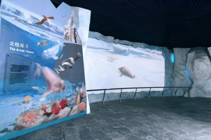 北極海域展示