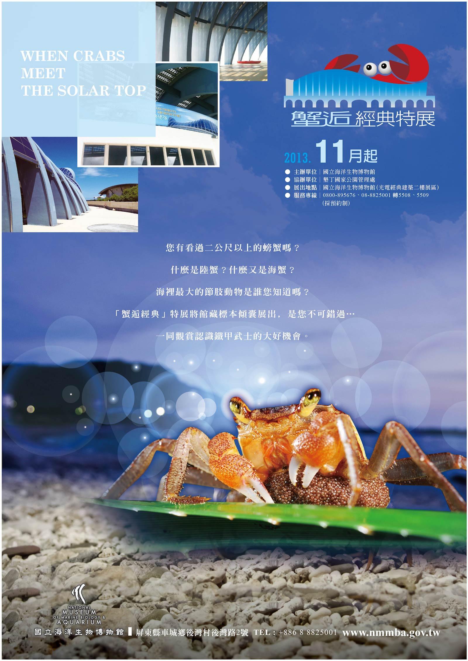 When crabs meet the solar power