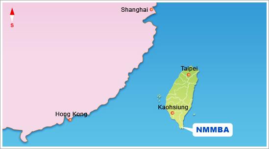 Taiwan Map Nmmba
